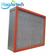 250℃ High Temperature HEPA Air Filter