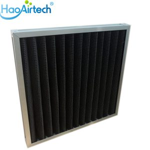 Pleated Active Carbon Filter