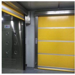 Auto Rolling Door Air Shower