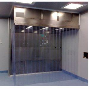 PVC Curtain Door Dispensing Booth