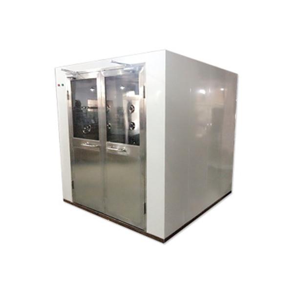 Double Swing Door Clean Room Air Shower