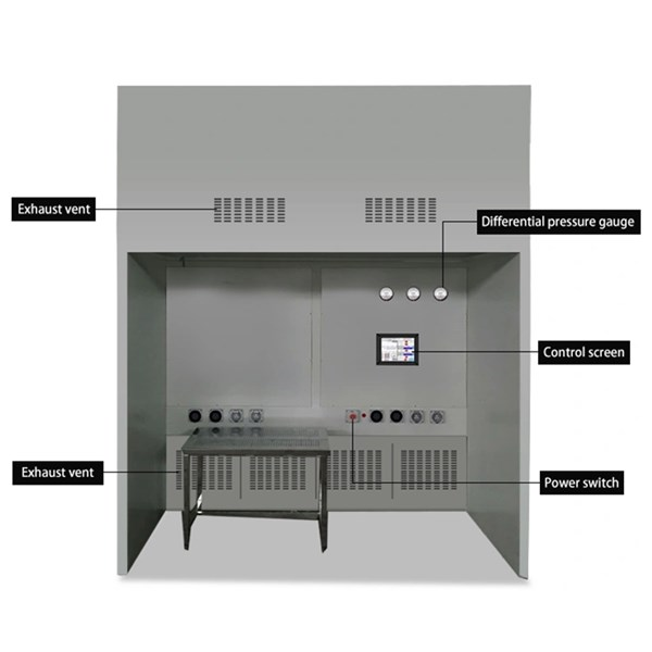 Stainless Steel Weighting Booth