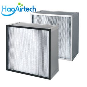 Deep pleat HEPA Filter