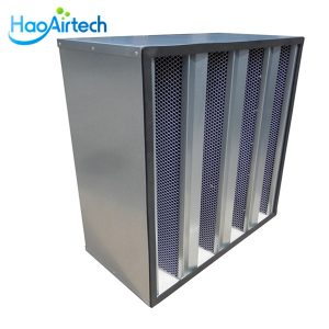 V Bank Activated Carbon Filter