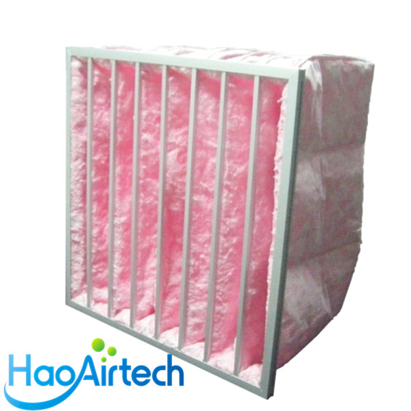 Glass Fiber Pocket Filter