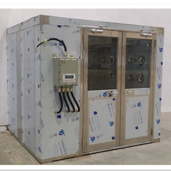 Explosion-proof air shower room