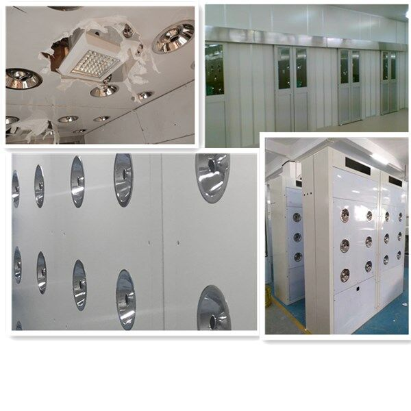 Powder Coated Steel Air Shower Tunnel