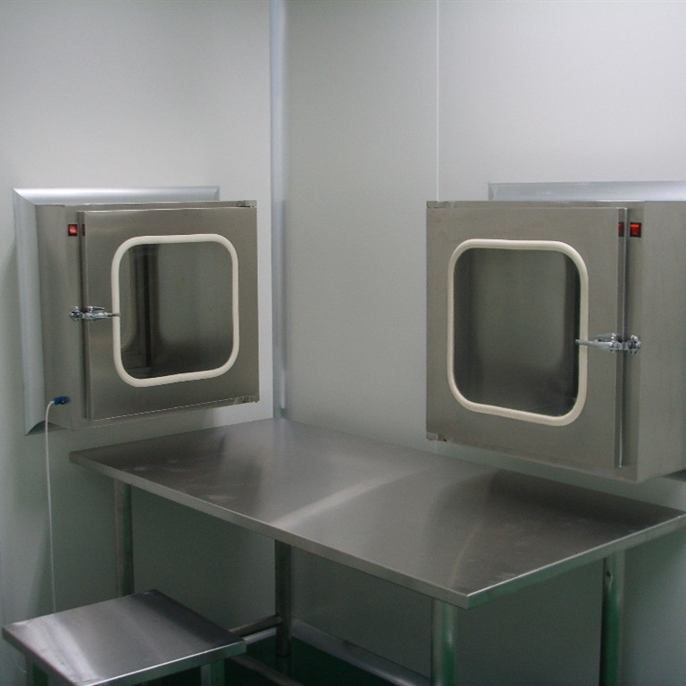 Clean room Pass Boxes Application: