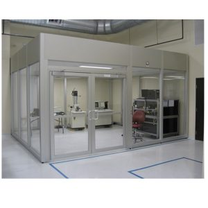 class 100 softwall clean room