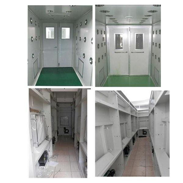Modular Air Shower Tunnel