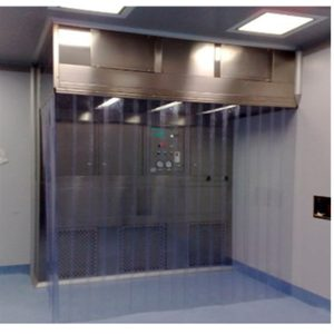PVC Curtain Door Dispensing Booth