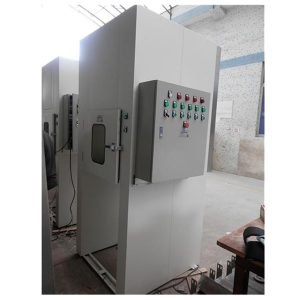 PLC Control Pass Box With Conveyor Line