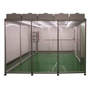 Pharmaceutical Softwall Clean Booth