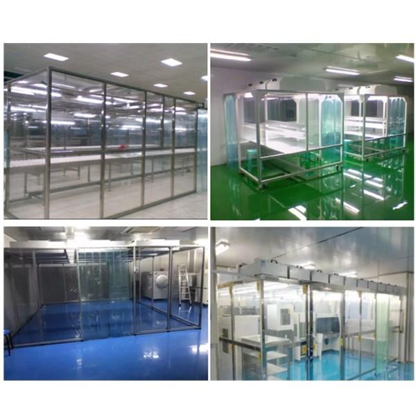 Plexiglass Material Wall Softwall Clean Room