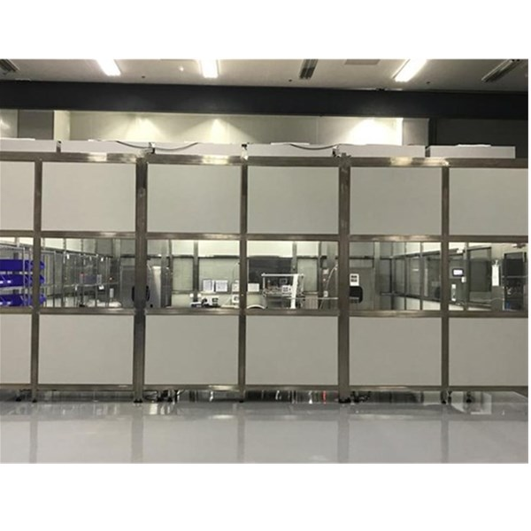 Aluminum Profile Frame Softwall Clean Booth