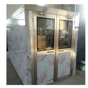 Double Swing Door Air Shower Room